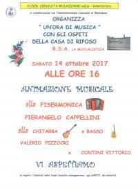 MUSICA ALLA CASA DI RIPOSO