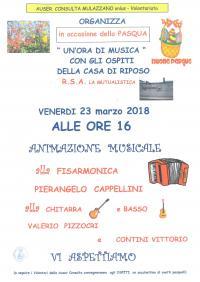 MUSICA PER PASQUA ALLA CASA DI RIPOSO